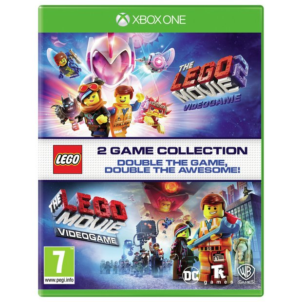 Buy The Lego Movie 1 2 Double Pack Xbox One Game Xbox One Games Argos