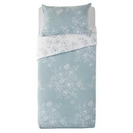Argos Home Classic Floral Bedding Set - Single