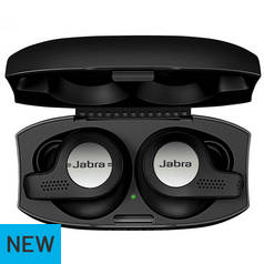 Jabra Elite 65 Active True Wireless Headphones - Black