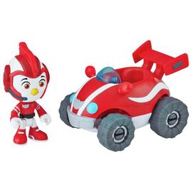 Top Wing Rod Figure and Vehicle Playset