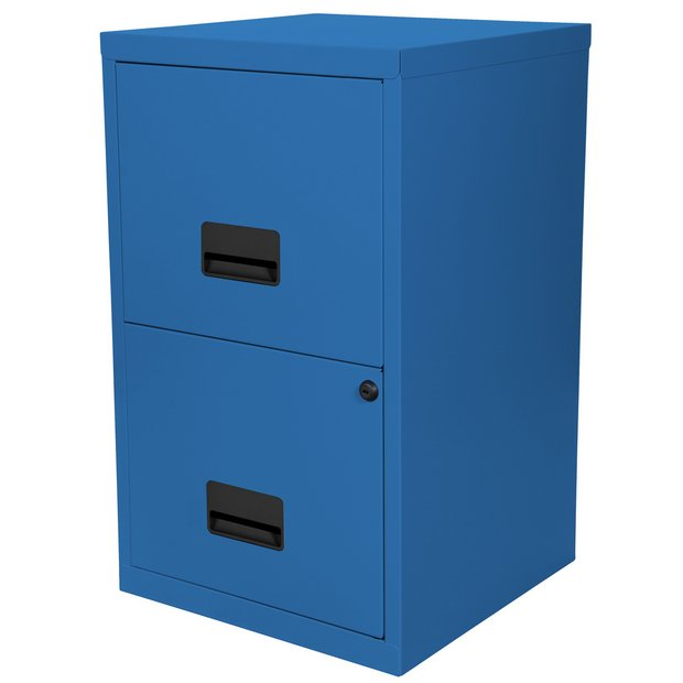 timeless design 20692 42ad1 Buy Pierre Henry 2 Drawer Metal Filing Cabinet - Navy | Filing cabinets and  office storage | Argos