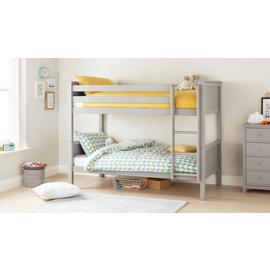 Argos Home Brooklyn Grey Bunk Bed