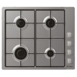 Candy CHW6LX Gas Hob - Stainless Steel