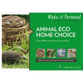 Animal Eco Home Choice For One Gift Experience