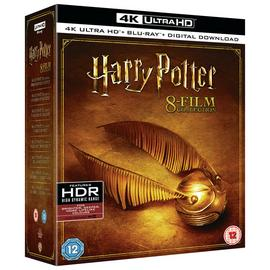 Harry Potter: The Complete Collection 4K UHD Blu-Ray
