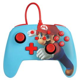 Nintendo Switch Enhanced Wired Controller - Mario Punch