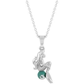 Disney Little Mermaid Carded Pendant Necklace