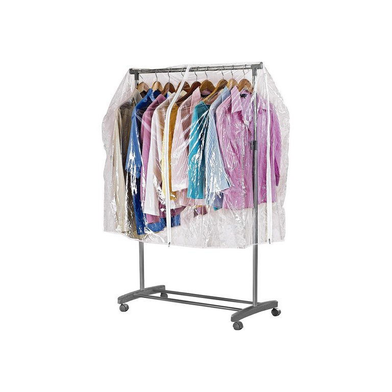 how to make hanging clothes rail