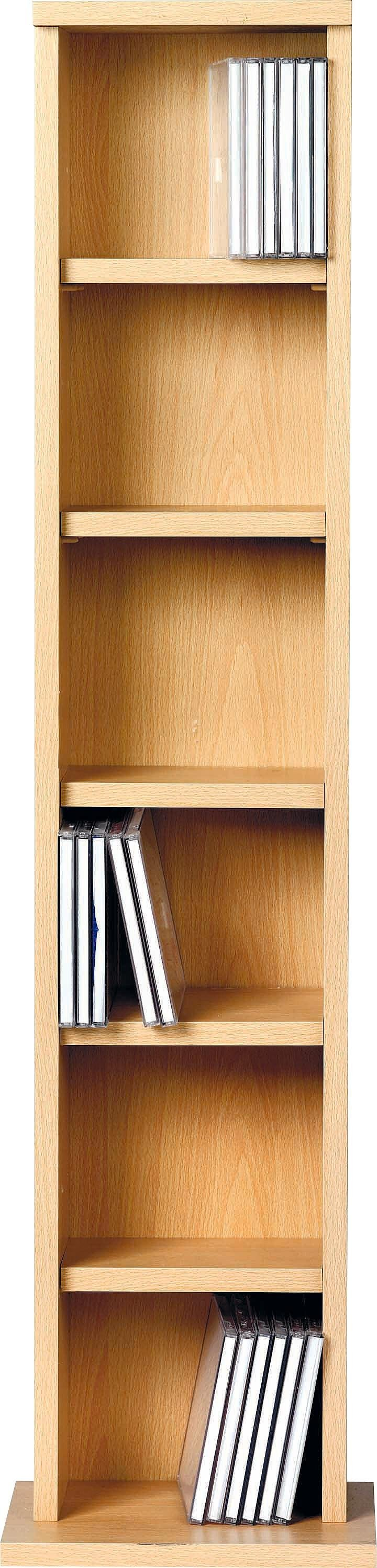 Argos Home CD And DVD Media Storage Tower   Beech Effect