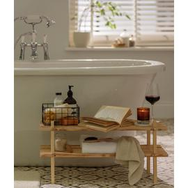 Argos Home 2 Shelf Shoe Storage Rack - Solid Pine