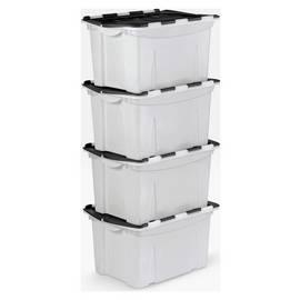 Buy Plastic Storage Boxes & Units Online | Argos