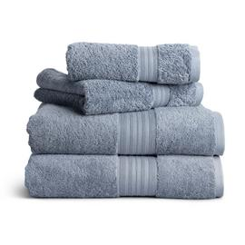 Habitat 4 Piece Egyptian Towel Bale - Rustic Blue