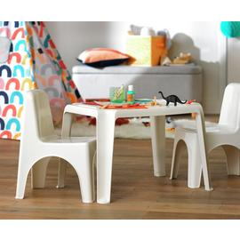 Argos Home Plastic Table - White