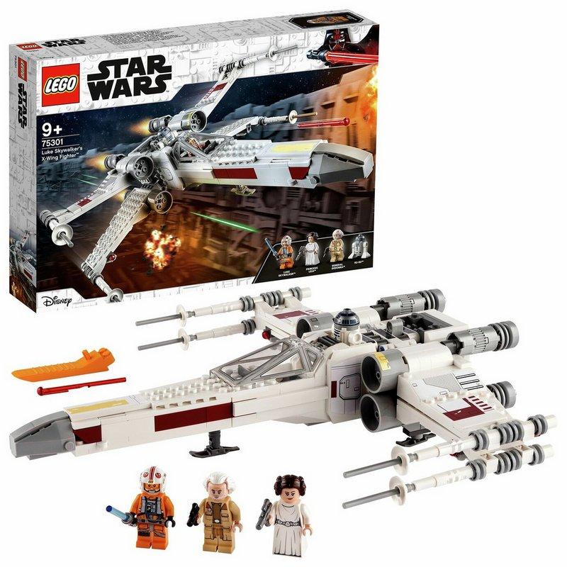 LEGO Star Wars Luke Skywalker's X-Wing Fighter Toy 75301 from Argos