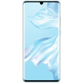 SIM Free Huawei P30 PRO 128GB Mobile Phone - Crystal