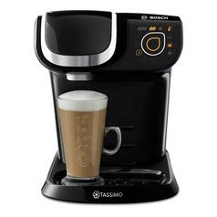 Bosch Tassimo My Way TAS6002GB Coffee Machine, 1500 watts, 1.2 Litres - Black Best Price and Cheapest