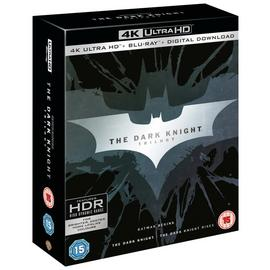 The Dark Knight Trilogy 4K UHD Blu-Ray Box Set