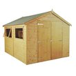 more details on Mercia Wooden 10 x 6ft Premium Shiplap Shed
