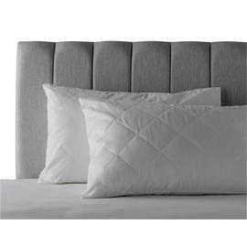 Argos Home Supersoft Washable Pair of Pillow Protectors