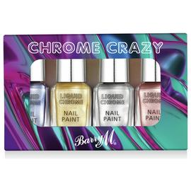Barry M Cosmetics Liquid Chrome Nail Paints
