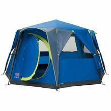 Coleman 8 Man Blue Octagon Dome Tent