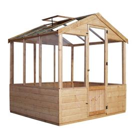 Mercia 6 x 6ft Traditional Greenhouse
