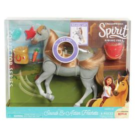 Spirit Classic Sound & Action Horse - Feeding