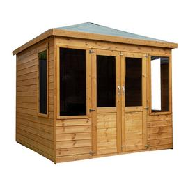 Mercia Wooden 8 x 8ft Clover Summerhouse