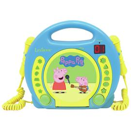 Peppa Pig Karaoke CD Player.