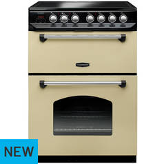 Rangemaster Classic CLAS60ECCR/C Electric Cooker - Cream