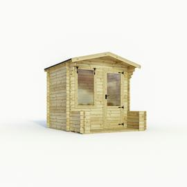 Mercia Wooden 10 x 9ft Cabin with Veranda