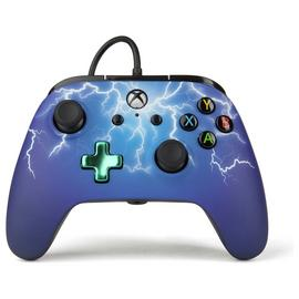 Enhanced Wired Controller for Xbox One - Purple Lightning