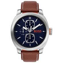 Hugo Boss Orange Brown Leather Strap Watch