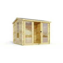 Mercia Wooden 12 x 11ft Shiplap Log Cabin