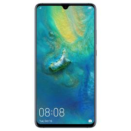 SIM Free Huawei Mate20 X 128GB Mobile Phone - Blue
