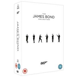 The James Bond Collection DVD Box Set