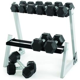 Weider 200lb Dumbbell Kit with Rack