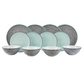 Argos Home 12 Piece Oriental Dinner Set