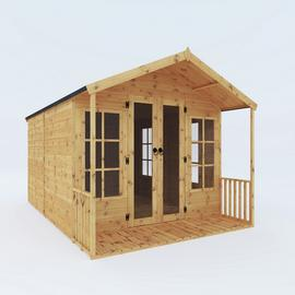 Mercia Wooden 12 x 8ft Premium Sussex Summerhouse
