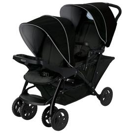 Graco Stadium Duo Tandem Pushchair - Black Grey