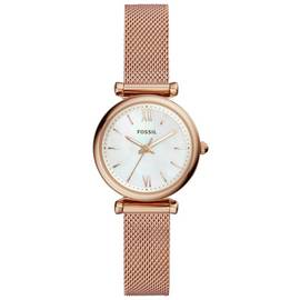 Fossil Carlie Mini Ladies' ES4433 Rose Gold Tone Watch
