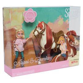 Spirit Small Doll & Classic Horse- Abigail and Boomerang