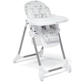 Mamas & Papas Snax Hexagons Highchair - Grey