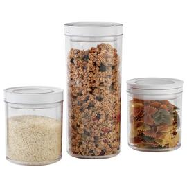 Argos Home Set of 3 Vacuum Food Storage Containers