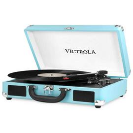 Victrola Case Record Player - Turquoise