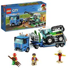 LEGO City Harvester Transport Toy Truck- 60223