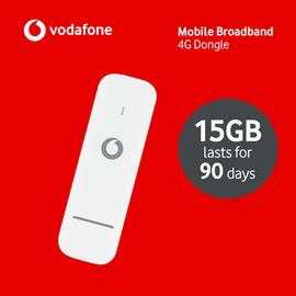 Vodafone 15GB 4G Data Dongle