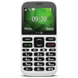 SIM Free Doro 1370 Mobile Phone - White