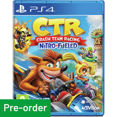 Crash Team Racing: Nitro-Fueled PS4 Pre-Order Game