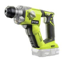 Ryobi ONE+ R18SDS-0 SDS Hammer Drill Bare Tool - 18V